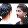 How-to-Fashionable-Side-Braid-Hairstyle-for-Shoulder-Length-Hair-Hairstyles-step-by-step-Tutorial