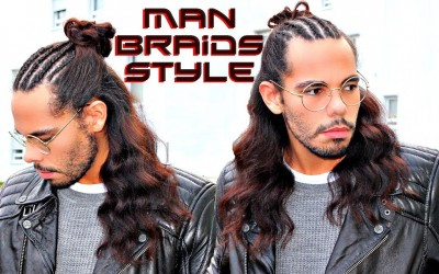 MAN-BRAIDS-Hair-Trend-2018-Hairstyle-For-Men-With-Long-Hair-Tutorial