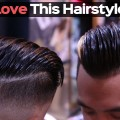 Mens-Haircut-2018-Straight-Hair-Men-Slick-Back-Tutorial