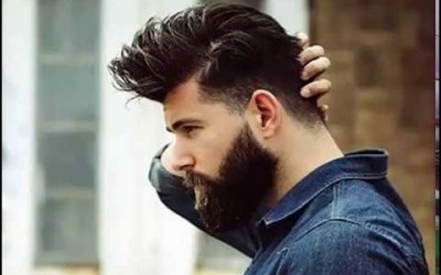 Mens-hairstyles-with-beard-for-2018-2019-Hip-Hop