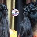 New-Trendy-Hairstyle-Hairstyle-for-Beautiful-girls-Ponytail-Hairstyles-And-Fashions