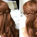Peinados-faciles-y-bonitos-para-cabelo-Peinado-de-nias-Easy-Hairstyles-For-Long