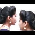 Perfect-Easy-Twin-Side-Bun-Hairstyle-Tutorial-Bun-hairstyles-Updo-hairstyles-videos-2018