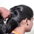 Simple-Braid-Up-Hairstyle-Tutorial-For-Medium-Long-Hair-Easy-braids-Hairstyle-tutorial-2018.S