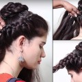 Simple-braid-hair-style-for-girls-Braid-Hair-style-step-by-step-tutorial-videos