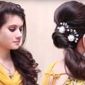 Simple-indian-hairstyles-for-long-hair-step-by-step-Hairstyles-tutorials-2018