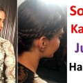 Sonam-Kapoor-inspired-juda-hairstyle-in-2-minute-short-hairstyles-new-hairstyle