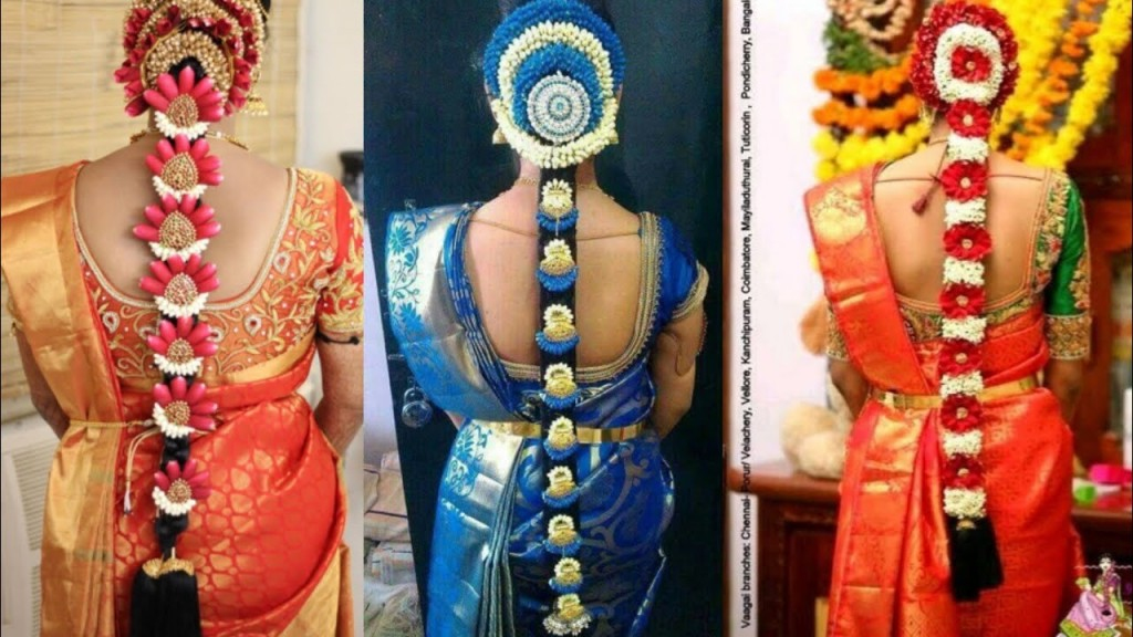 South Indian Bridal Hairstyle Ideas Flower Juda Hairstyle Ideas Long