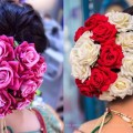 beautiful-flower-hairstyle-ideasnew-flower-bun-hairstyle-for-wedding-season