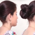 1-Min-Quick-Bun-Hairstyles-for-Girls-Beautiful-Last-Minute-Hairstyle-Hairstyle-Compilation-2018