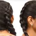 1-Minute-Quick-and-Easy-Hairstyles-Last-Minute-Hairstyles-for-Girls-Braided-Hairstyle-Tutorials