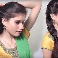 3-Different-party-Hairstyle-at-Last-Minute-Indian-Wedding-hairstyles-videos-DIY-Hairstyles