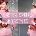 4-Easy-Spring-Hairstyles-for-Short-Hair-Hair-Tutorial-by-Beauxoxo
