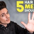 5-GREAT-Hair-Hacks-Every-Guy-Should-Know-Mens-Hairstyle-Tutorial-BluMaan-2018