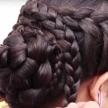 7-Best-Hairstyle-for-Long-Hair-Braid-Bun-Hairstyle-Puff-Hairstyle-Ladies-Hairstyles-Tutorials