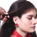 Beautiful-Long-Hair-Hairstyle-for-Party-Hairstyle-Simple-and-easy-hairstyle-videos-2018