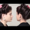 Best-Puff-Hairstyle-Front-Puff-Hair-Styles-Tutorial-Simple-Hairstyles-For-Girls-for-long-hair