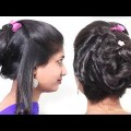 Easy-Quick-Twisted-Bun-HairstyleEasy-Bun-Hairstyles-for-Women-Hairstyle-videos-2018
