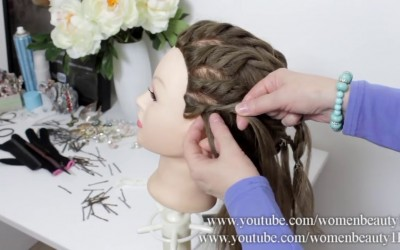 Easy-Simple-Party-Hairstyle.-Updo-For-Long-Hair-Tutorial