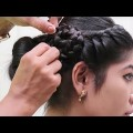 Easy-Simple-Side-Flower-Braided-hairstyle-for-long-hair-step-by-step-tutorial-videos-2018.