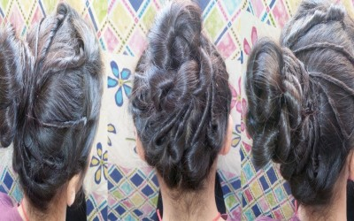 Easy-hairstyle-For-Party-Beautiful-Long-Hair-Hairstyle-New-Hairstyle-2018
