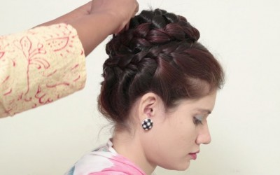 Everyday-Hairstyle-for-Girls-Flower-Bun-Hairstyle-For-Long-Hair-Tutorial-Easy-Updo-Hairstyle-2018