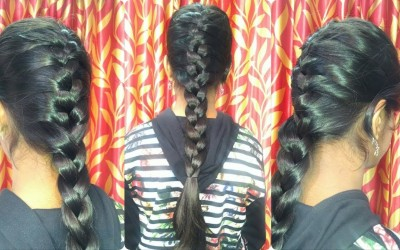 Everyday-Quick-Easy-Hairstyles-with-FRENCH-BRAIDHairstyles-for-medium-to-long-hair