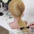 French-Twist-Ponytail-For-Long-Hair.-Party-Hairstyles