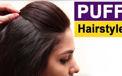 Front-Puff-for-Thin-Hair-Quick-Easy-Hairstyles-with-Puff-How-to-Make-Perfect-Puff-Hairstyle