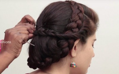 How-to-Make-Indian-Braided-Hairstyle-for-Long-Hair-Simple-Indian-Hairstyle-for-festivals-DIY