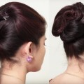 How-to-do-Beautiful-Twist-Bun-Hairstyle-Easy-Party-Hairstyle-for-long-hair-2018