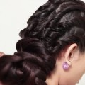 How-to-do-Hairstyle-for-Medium-Hair-Updo-Bun-Hairstyles-New-Hairstyle-For-Girls-2018