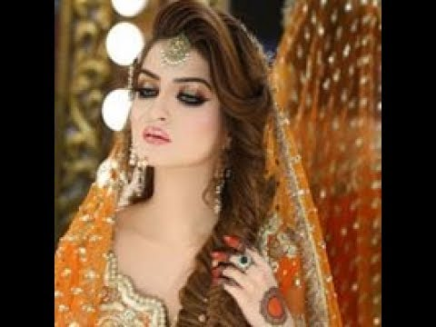Mayon Mehndi Hairstyle Tutorial Pakistani Indian Bridal