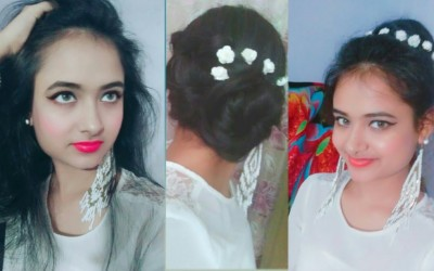 Mast-wedding-guest-hairstyle-for-long-to-short-hair-2-easy-bun-hairstyles-itz-maah-life