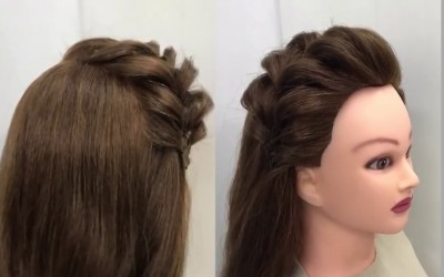 New-Two-Ways-to-Style-Front-Hair-Easy-Everyday-Hairstyles-2018-HomeTown