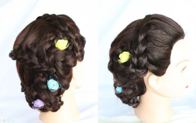 New-wedding-hairstyle-new-hairstyle-for-party-hairstyle-short-hairstyle-simple-hairstyle