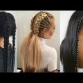 PEINADOS-FACILES-con-TRENZAS-2018-Easy-Hairstyles-with-Braids-2018