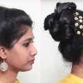 Quick-Easy-Bun-Hair-style-for-long-hair-2018-How-to-do-Hairstyles-for-long-hair-2018