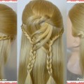 Swirling-Braids-Half-Up-Hairstyle-For-Long-and-Medium-Hair