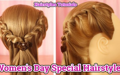 Womens-Day-Special-Hairstyles-for-Short-HairsMedium-Hairs-Long-Hairs-Hairstyles-Tutorial