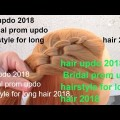 hair-updo-2018-Bridal-prom-updo-hairstyle-for-long-hair-2018-OPSTEKEN-KAPSEL-TIPS-by-Amal-hermuz