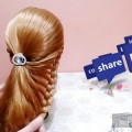 simple-party-hairdo.-hairstyle-for-long-medium-hair.-hairstyle-tutorial.