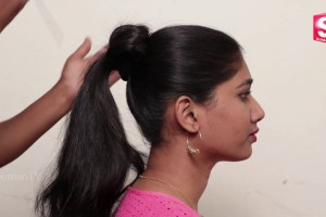 1-Min-Easy-Messy-Bun-Hairstyle-The-Perfect-Hairstyle-for-School-College-Work-Sumantv-Women