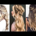 12-Easy-Braids-For-Long-Hair-Tutorial-New-Hairstyles-Tutorials-Compilation-April-2018