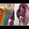 15-Beautiful-Hairstyles-for-Long-Hair-and-Amazing-Hair-Hacks-Haircut-and-Color-Transformation-2