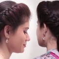 2-Quick-Easy-Bubble-Bun-Hairstyles-for-saree-Simple-Bridal-hairstyle-for-long-hair-Tutorial