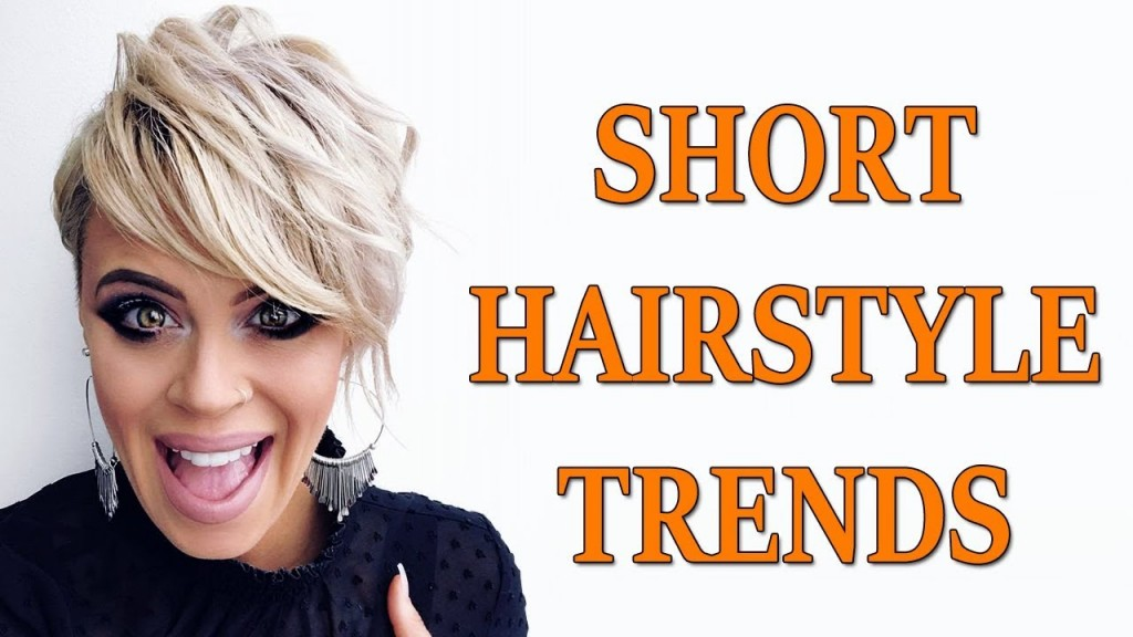 2019 Short Hairstyle Trends Short Haircuts Hairstyles For Women