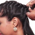 5-Minute-Hairstyles-For-Long-Hair-Easy-Hairstyles-2018-Sumantv-Women