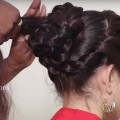 Beautiful-Bun-Hairstyle-for-WeddingpartyFunction-Hair-Style-Girl-Easy-Hairstyles-for-Party