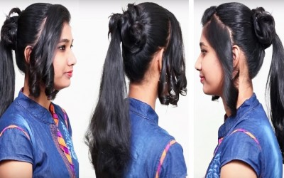Beautiful-Hairstyle-for-WeddingpartyFunction-Hair-Style-Girl-Hairstyles-for-Occasions